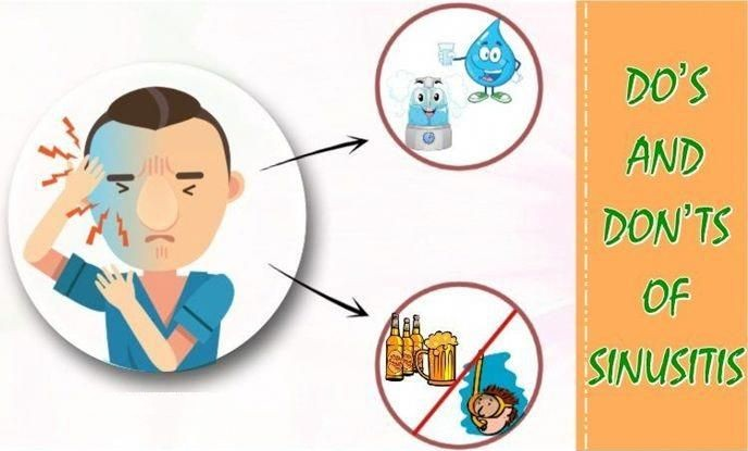 Dos and Don'ts of Sinusitis Infections