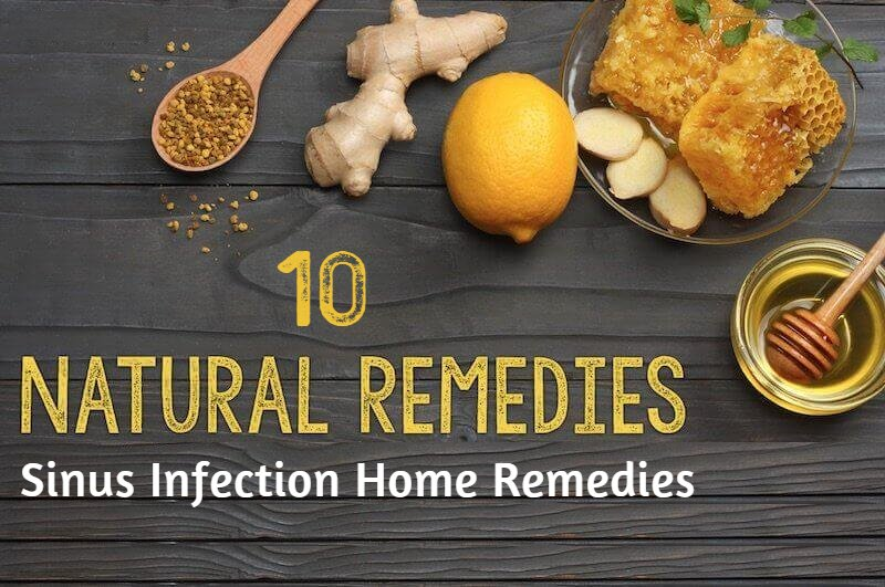 10 Natural Home Sinus Infection Remedies (Sinusitis Treatment)