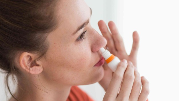nasal-Saline spray- Natural Home Sinus Infection Remedies (Sinusitis)